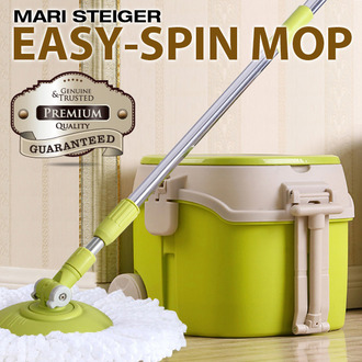 [마리슈타이거] SUPER 이지스핀 회전식 탈수 물걸레 청소기 MS-09