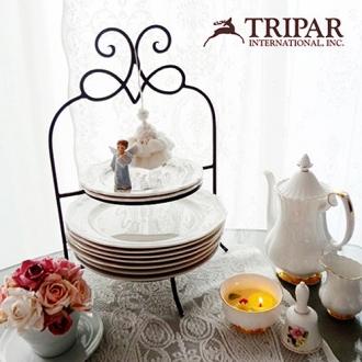 [재입고특가행사] 미국 트리파 정품 Tripar 2 Tier Metal Plate Rack (2단 접시스텐드)