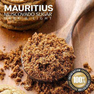 [모리셔스 비정제 설탕]  머스코바도 라이트&다크 영양성분 그대로의 사탕수수당 [무료배송]